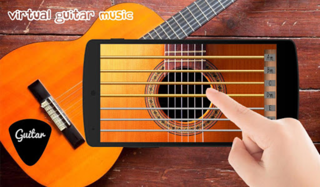 Virtual Guitar Music screenshot 3