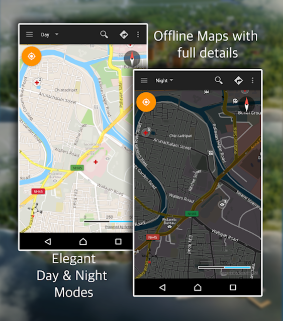 Offline Map Navigation - Live GPS, Locate, Explore screenshot 8