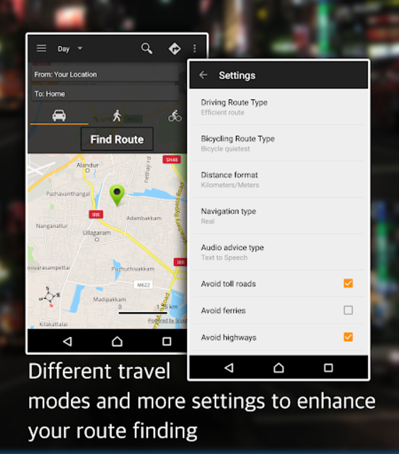 Offline Map Navigation - Live GPS, Locate, Explore screenshot 10
