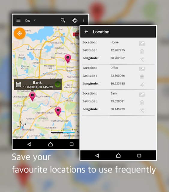Offline Map Navigation - Live GPS, Locate, Explore screenshot 13