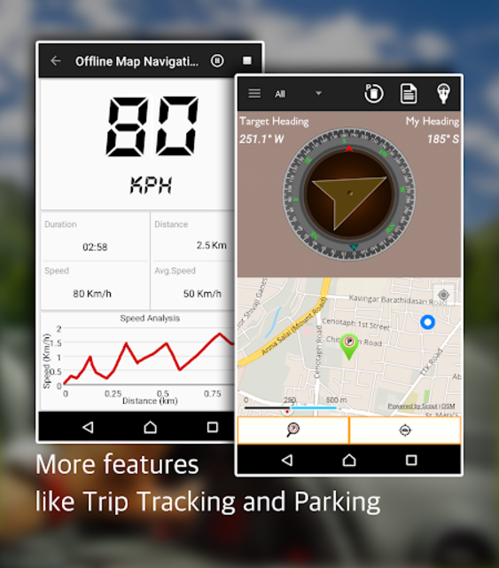 Offline Map Navigation - Live GPS, Locate, Explore screenshot 14