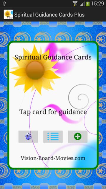 Spiritual Guidance Cards Plus screenshot 1