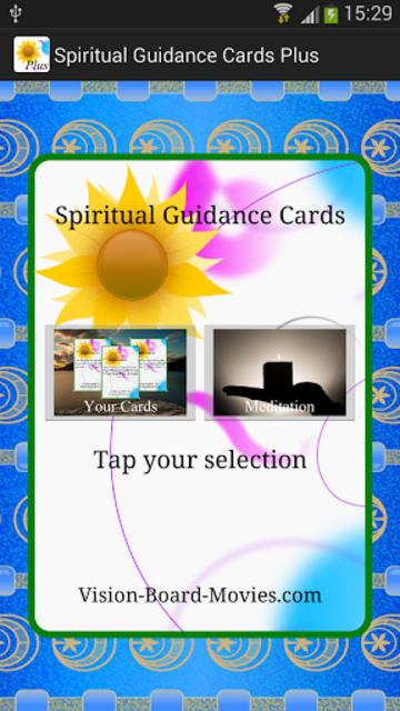 Spiritual Guidance Cards Plus screenshot 4