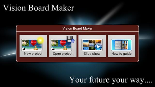 Vision Board Maker screenshot 1