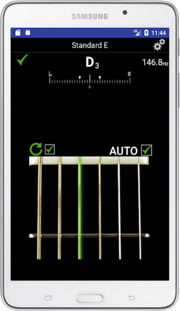 Guitar Tuner Pro - Professional Accuracy screenshot 1