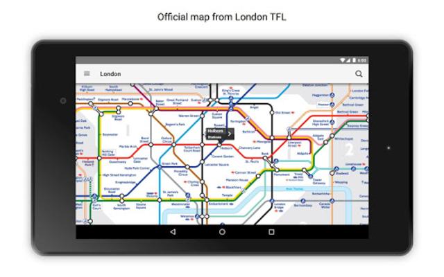 Tube Map London Underground screenshot 17