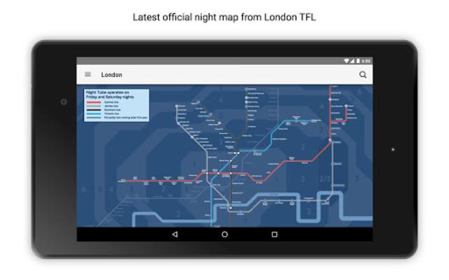 Tube Map London Underground screenshot 18