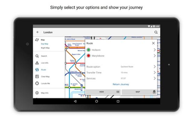 Tube Map London Underground screenshot 19