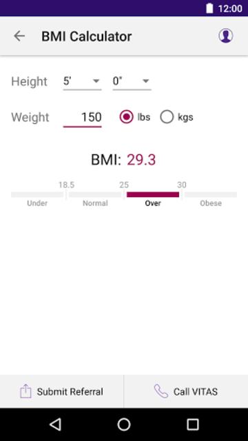 VITAS Hospice Referral App for Healthcare Pros screenshot 1