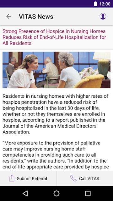VITAS® Healthcare App screenshot 8
