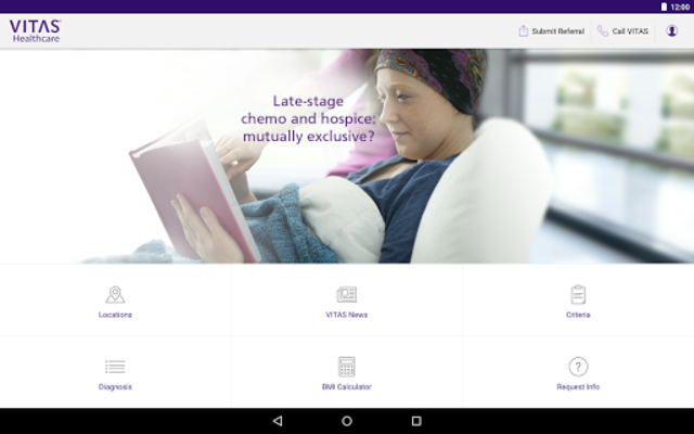VITAS Hospice Referral App for Healthcare Pros screenshot 11