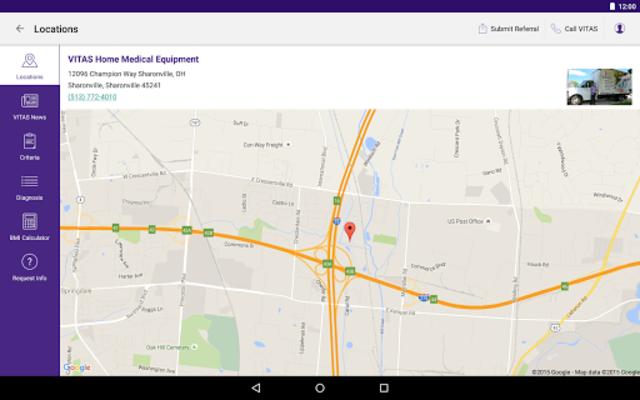 VITAS Hospice Referral App for Healthcare Pros screenshot 13