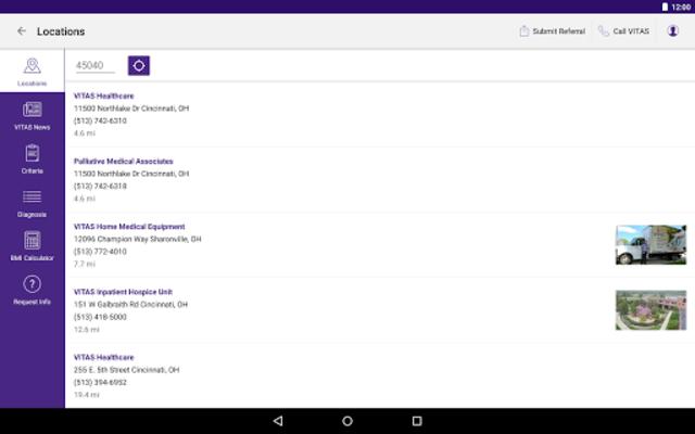 VITAS Hospice Referral App for Healthcare Pros screenshot 14