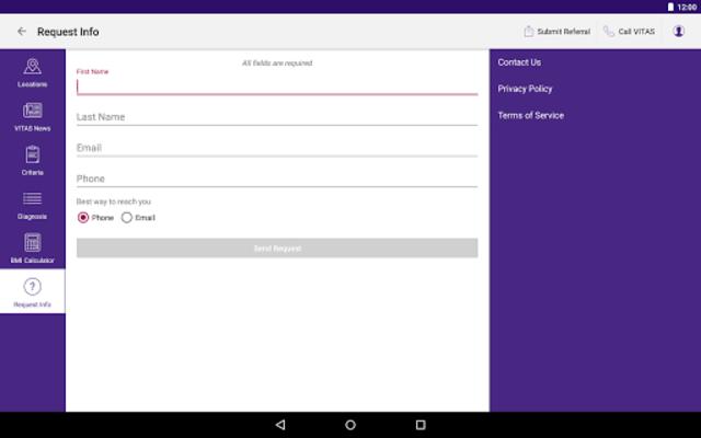 VITAS Hospice Referral App for Healthcare Pros screenshot 15