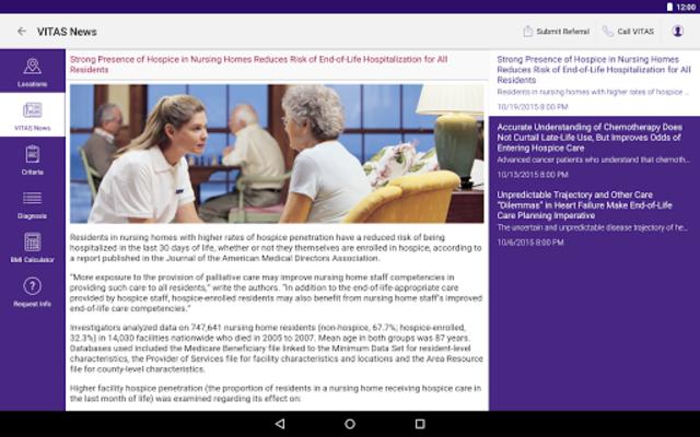 VITAS Hospice Referral App for Healthcare Pros screenshot 16