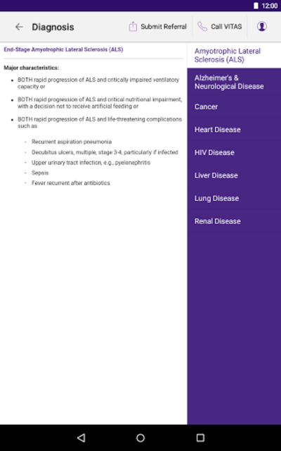 VITAS Hospice Referral App for Healthcare Pros screenshot 20