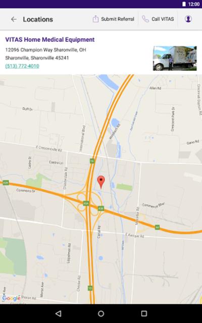 VITAS Hospice Referral App for Healthcare Pros screenshot 21