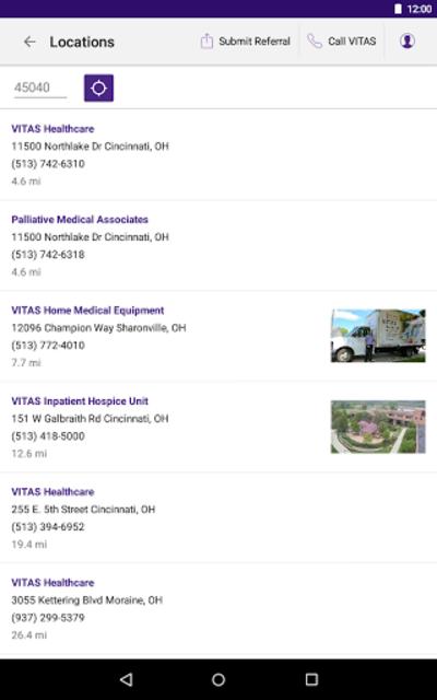 VITAS Hospice Referral App for Healthcare Pros screenshot 22