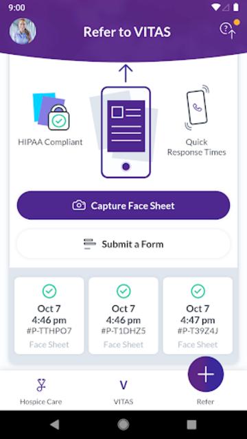 VITAS® Healthcare App screenshot 1