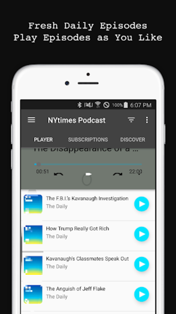 The Daily Podcast screenshot 2