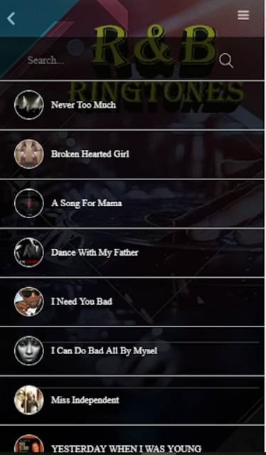 Free R&B Ringtones screenshot 2