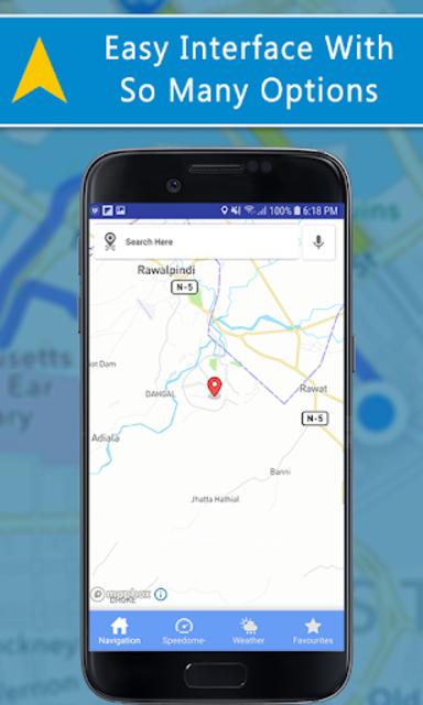 Voice GPS Driving Directions, GPS Navigation, Maps screenshot 8