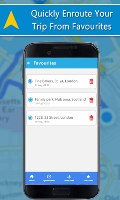 Voice GPS Driving Directions, GPS Navigation, Maps screenshot 14