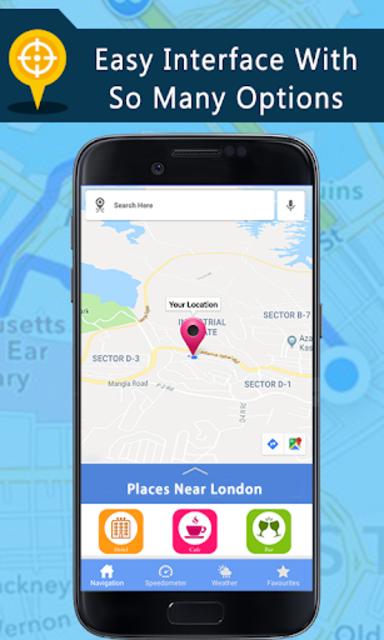 Voice GPS Driving Directions, Gps Navigation, Maps screenshot 1
