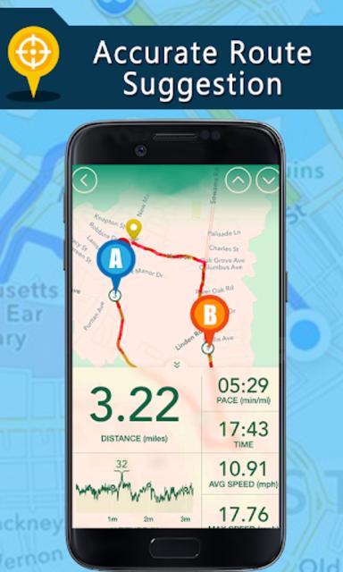 Voice GPS Driving Directions, Gps Navigation, Maps screenshot 2