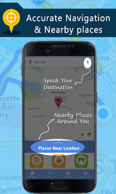 Voice GPS Driving Directions, Gps Navigation, Maps screenshot 3