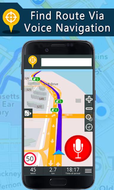 Voice GPS Driving Directions, Gps Navigation, Maps screenshot 6