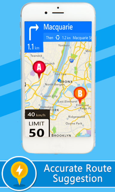 Voice GPS Driving Directions – Lite screenshot 2