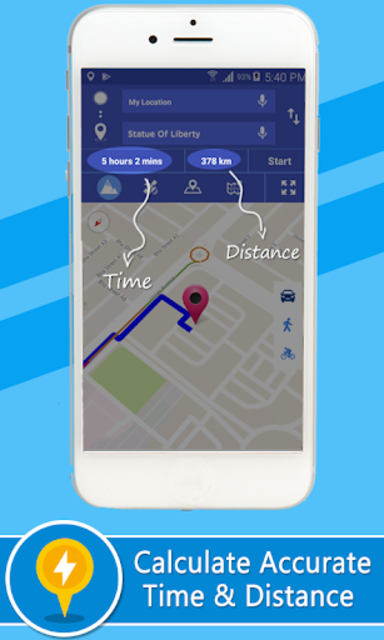 Voice GPS Driving Directions – Lite screenshot 4