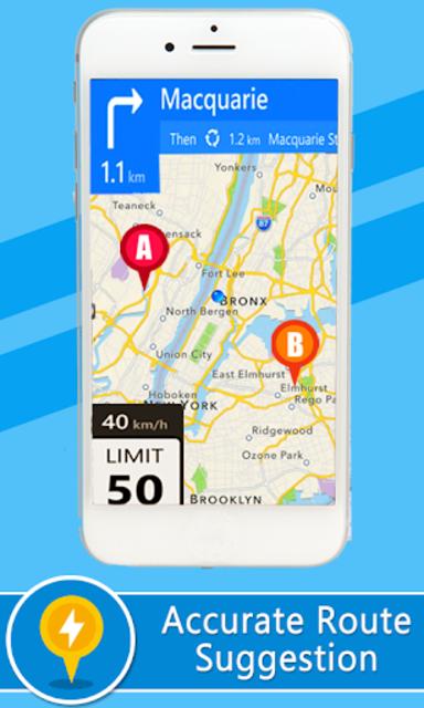 Voice GPS Driving Directions –Lite, GPS Navigation screenshot 4