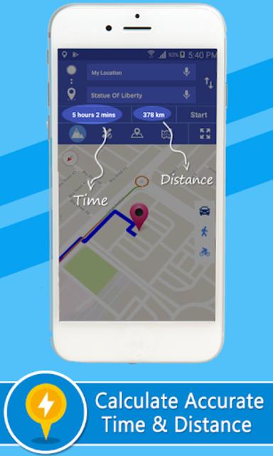 Voice GPS Driving Directions –Lite, GPS Navigation screenshot 6