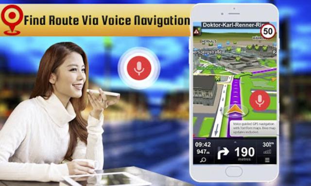 Voice GPS Driving: GPS Navigation Direction screenshot 1