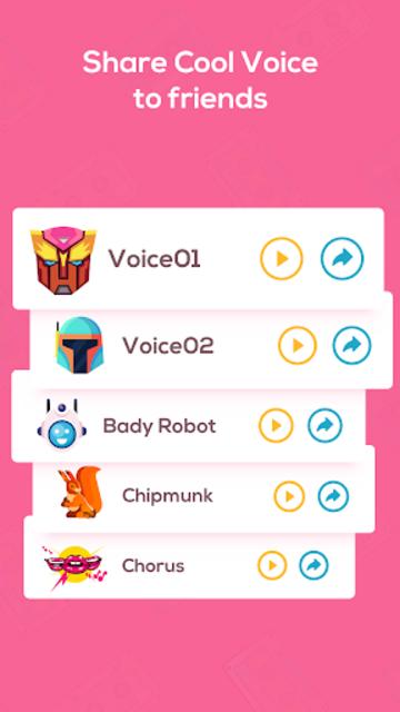 Voice Changer Voice Recorder - Editor & Effect screenshot 20