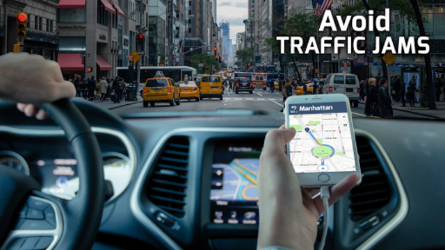 GPS Navigation - Maps, Driving Directions, Traffic screenshot 4