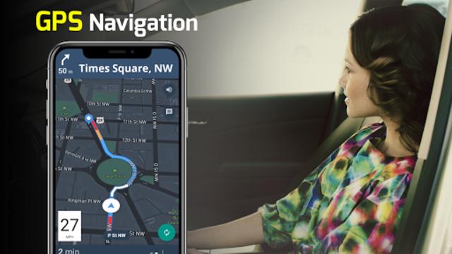 GPS Navigation - Maps, Driving Directions, Traffic screenshot 1