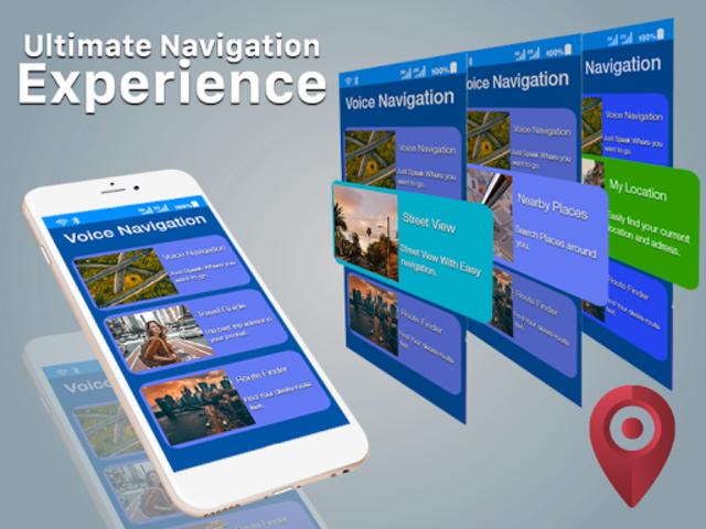 GPS Navigation - Maps, Driving Directions, Traffic screenshot 8