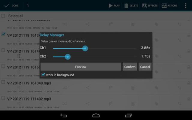 Voice PRO - HQ Audio Editor screenshot 4