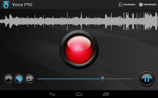 Voice PRO - HQ Audio Editor screenshot 5