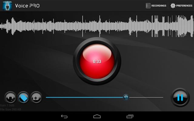 Voice PRO - HQ Audio Editor screenshot 21