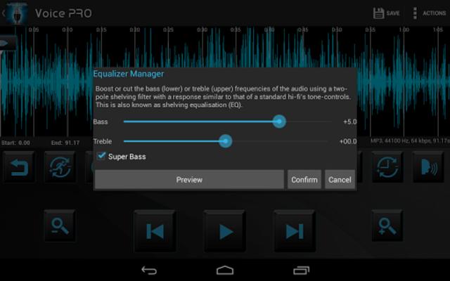 Voice PRO - HQ Audio Editor screenshot 10
