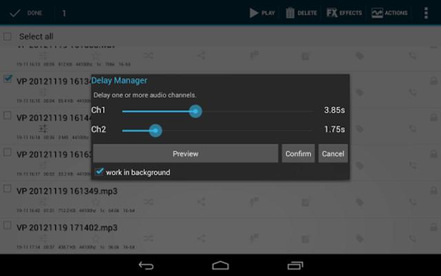 Voice PRO - HQ Audio Editor screenshot 12