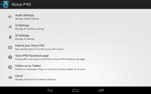 Voice PRO - HQ Audio Editor screenshot 16