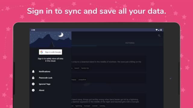 Dream Catcher: Ultimate Dream Journal screenshot 9