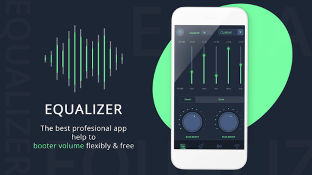 Volume Booster & Bass Booster with Music Player screenshot 2