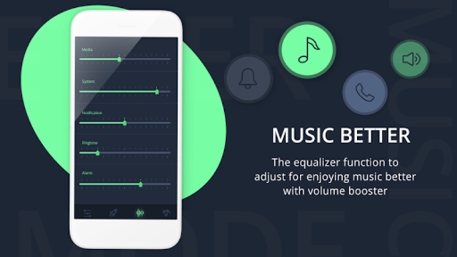 Volume Booster & Bass Booster with Music Player screenshot 4