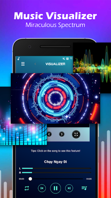 Volume Booster & MP3 Player with Equalizer screenshot 2